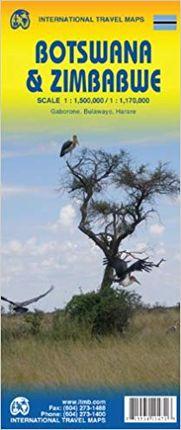 BOTSWANA & ZIMBABWE 1:1.500.000 / 1:1.100.000 -ITMB