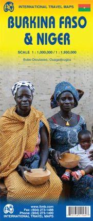 BURKINA FASO & NIGER 1:1.000.000/1:1.950.000 -ITMB