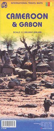 GABON 1:950.000 CAMEROON 1:1.500.000 -ITMB