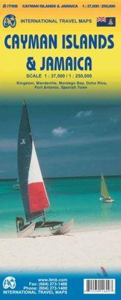 CAYMAN ISLANDS 1:37.500 & JAMAICA 1:250.000 -ITMB