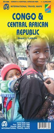 CONGO & CENTRAL AFRICAN REPUBLIC 1:2.000.000 -ITMB