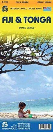 FIJI & TONGA (SCALE VARIES)-ITMB