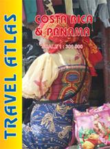 COSTA RICA & PANAMA - TRAVEL ATLAS -ITMB