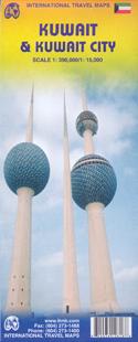 KUWAIT & KUWAIT CITY 1:390.000/1:15.000 -ITMB