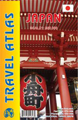 JAPAN - TRAVEL ATLAS -ITMB