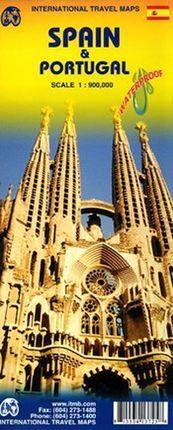 SPAIN & PORTUGAL 1:900.000 - ITMB