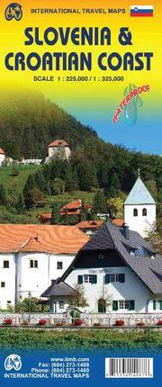 SLOVENIA 1:225.000 & CROATIAN COAST 1:325.000 -ITMB