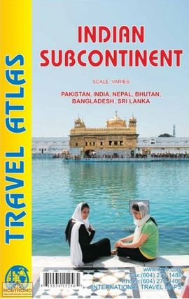 INDIAN SUBCONTINENT - TRAVEL ATLAS -ITMB
