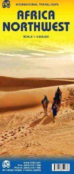 AFRICA NORTHWEST 1:3.800.000 -ITMB