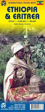 ETHIOPIA 1:2.000.000 & ERITREA 1:900.000 -ITMB