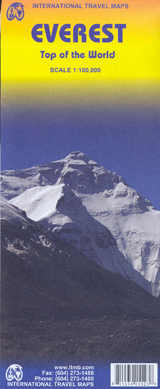 EVEREST 1:100.000 TOP OF THE WORLD -ITMB