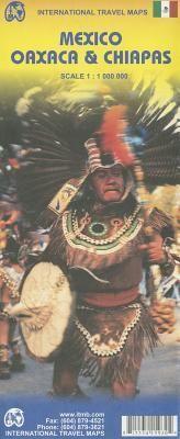 MEXICO OAXACA & CHIAPAS 1:1.000.000 -ITMB