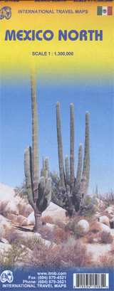 MEXICO NORTH 1:1.300.000 -ITMB