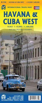 HAVANA & CUBA WEST 1:10.000 / 1:600.000 -ITMB