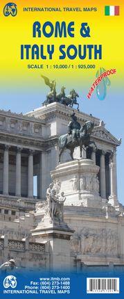ROME & ITALY SOUTH 1:10.000/1:925.000 -ITMB