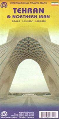 TEHRAN & NORTHERN IRAN 1:15.000/1:1.800.000 -ITMB