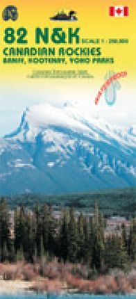82 J,K,N, & O  1:250.000  CANADIAN ROCKIES -ITMB