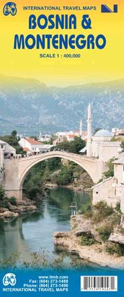 BOSNIA & MONTENEGRO 1:400.000 -ITMB