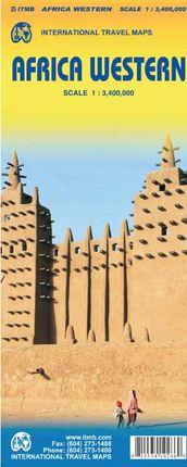 AFRICA WESTERN 1:3.400.000 -ITMB
