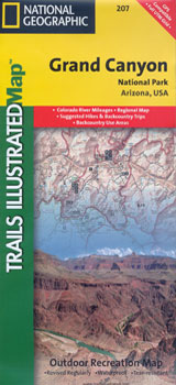 261 GRAND CANYON NORTH AND SOUTH RIMS 1:35.000 -TRAILS ILLUSTRATED