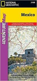 MEXICO- ADVENTURE MAP -NATIONAL GEOGRAPHIC