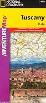 TUSCANY- ADVENTURE MAP -NATIONAL GEOGRAPHIC
