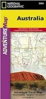 AUSTRALIA- ADVENTURE MAP - NATIONAL GEOGRAPHIC