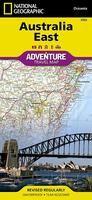 AUSTRALIA ESTE 1:1.800.000 -NATIONAL GEOGRAPHIC