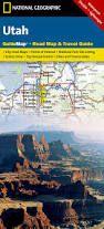 UTAH - GUIDE MAP - NATIONAL GEOGRAPHIC