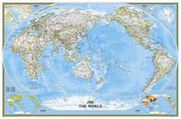 WORLD CLASSIC [ENG][MURAL] 1:22.445.000 PACIFIC CENTERED -NATIONAL GEOGRAPHIC