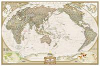 WORLD EXECUTIVE [GRAN] PACIFIC CENTERED [ENG] 1:22.445.000 [MURAL] -NATIONAL GEOGRAPHIC