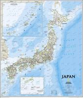 JAPON [MURAL] 1:3.1000.000 -NATIONAL GEOGRAPHIC