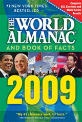 2009 THE WORLD ALMANAC AND BOOK OF FACTS