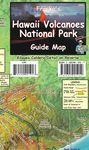 HAWAII VOLCANOES NATIONAL PARK GUIDE MAP -FRANKO'S