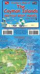 CAYMAN ISLANDS, BRITISH WEST INDIES GUIDE & DIVE MAP -FRANKO'S