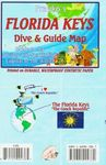 FLORIDA KEYS DIVE & GUIDE MAP -FRANKO'S