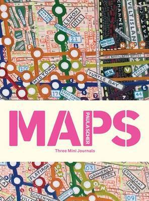MAPS. THREE MINI JOURNALS [QUADRIC, LISAS, RAYAS]