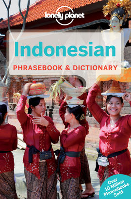 INDONESIAN PHRASEBOOK -LONELY PLANET