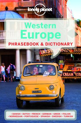 WESTERN EUROPE. PHRASEBOOK & DICTIONARY -LONELY PLANET