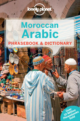 MOROCCAN ARABIC. PHRASEBOOK & DICTIONARY -LONELY PLANET