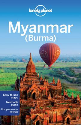 MYANMAR (BURMA) -LONELY PLANET