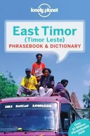 EAST TIMOR. PHRASEBOOK & DICTIONARY -LONELY PLANET