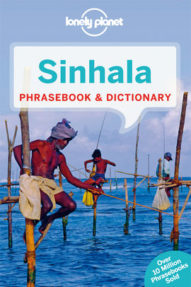 SINHALA (SRI LANKA) PHRASEBOOK & DICTIONARY -LONELY PLANET