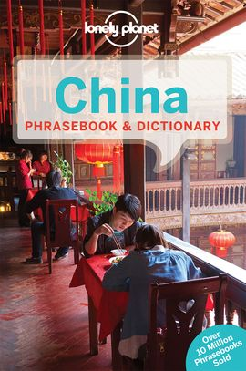 CHINA PHRASEBOOK & DICTIONARY -LONELY PLANET
