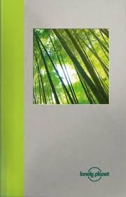 BAMBOO. LARGE NOTEBOOK -LONELY PLANET