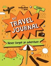 MY TRAVEL JOURNAL -LONELY PLANET KIDS