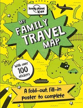 MY FAMILY TRAVEL MAP -LONELY PLANET