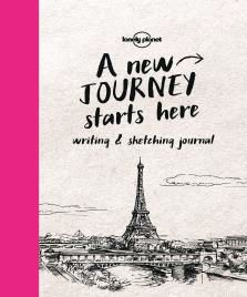 WRITING & SKETCHING JOURNAL - LONELY PLANET