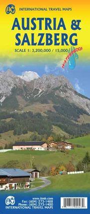 AUSTRIA 1:3.200.000 & SALZBURG 1:15.000 -ITMB
