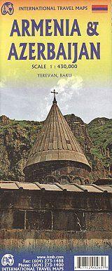ARMENIA & AZERBAIJAN 1:430.000 -ITMB